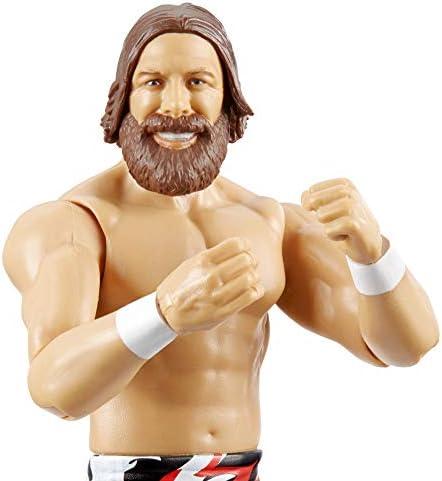 WWE - Daniel Bryan Personaggio in Scala Articolato, Costume da Combattimento, Giocattolo per Bambini 8+ Anni, 15 cm, GCB59