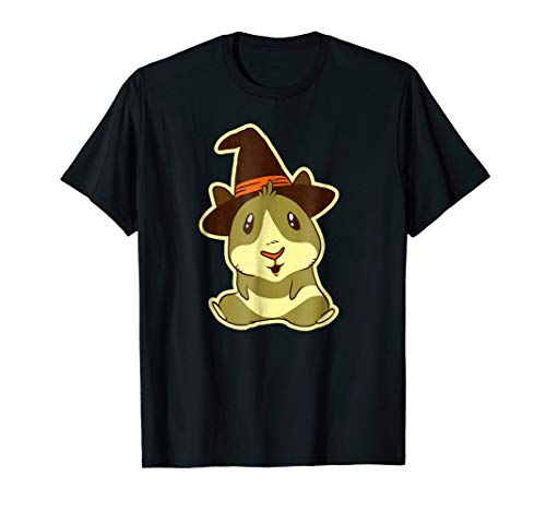Guinea Pig Witch Halloween Costume T-Shirt