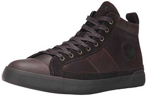 Ralph Lauren Mens Clarke Smithoil Sportside Brown Leather Trainers 11 UK free shipping sast HCSk1wg0