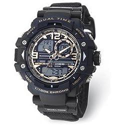 Wrist Armor Men's 'U.S. Marine Corps' Quartz Black Casual Watch (Model: 37100029)