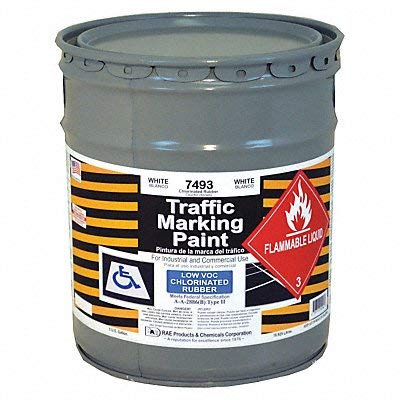 Traffic Marking Paint, White, 5 - Marking Paint Traffic