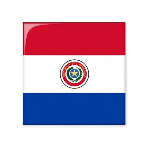Paraguay National Flag South America Country Symbol Mark Pattern Ceramic Bisque Tiles for Decorating Bathroom Decor Kitchen Ceramic Tiles Wall Tiles 70%OFF