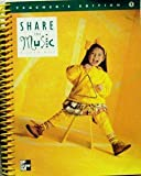Share The Music Teacher's Edition, Grade 1