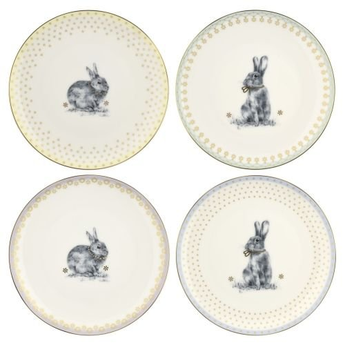 (Spode Meadow Lane Salad/Dessert Plate, S/4 8