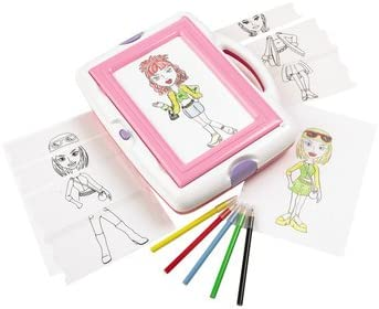 Modelic Cool Totally Me Light Up Fashion Tracing Designer Amazon Co Uk Toys Games