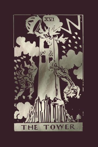 The Tower: Tarot Card Notebook Raisin Black 120-Page (Tarot Card