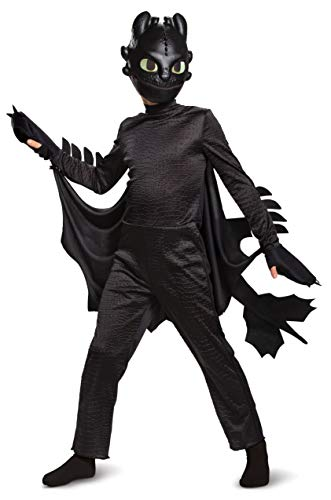 Toothless Dragon Halloween Costume (Disguise Toothless How to Train Your Dragon Hidden World Deluxe Boys')