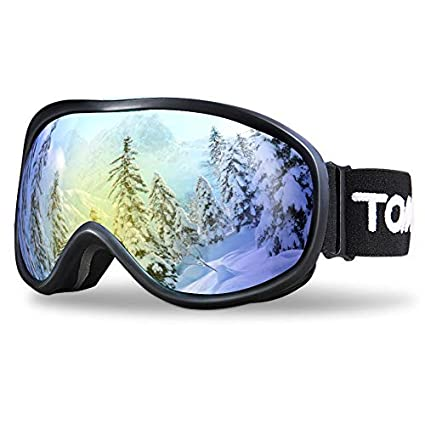 TOMSHOO Gafas de esquí, Gafas Antideslizantes para Deportes de ...