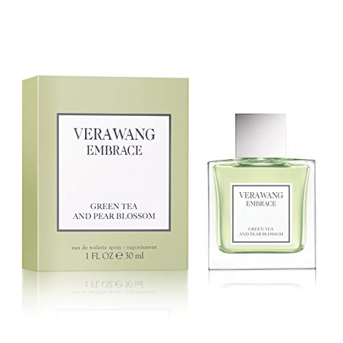 Vera Wang Embrace Eau de Toilette Spray for Women, Green Tea & Pear Blossom, 1 Fl Oz from Vera Wang