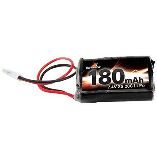 Dynamite 7.4V 180mAh 2S 20C LiPo: Losi Micros Battery
