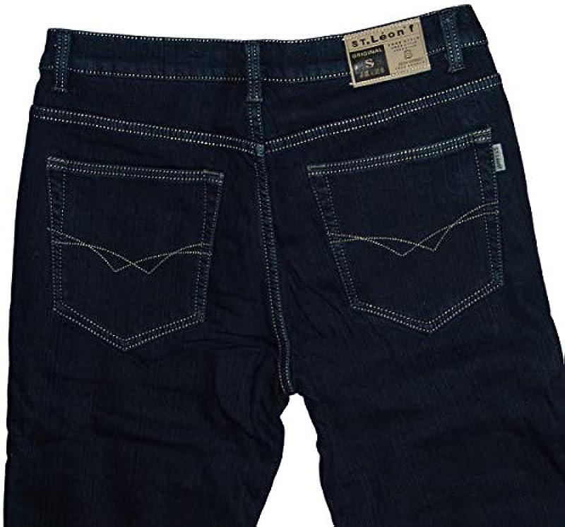 m.g.fashion Męskie spodnie termiczne ze stretchu: Odzież