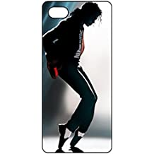 Michael Jackson iPhone 6 Plus Case, Black Soft Rubber Silicone Phone Case Cover Skin for iPhone 6 Plus/ iPhone 6S Plus 5.5 Inch Plastic Protective