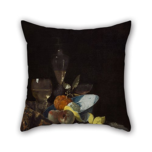 [Slimmingpiggy Pillow Cases 18 X 18 Inches / 45 By 45 Cm(both Sides) Nice Choice For Couch,play Room,son,family,drawing Room,floor Oil Painting Willem Kalf - Still] (Tigger Costume Makeup)
