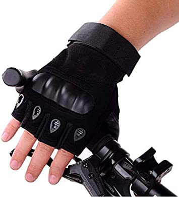 guantes de deporte al aire libre Guantes de medio dedo para hombre escalada, escalada, escalada, senderismo, ciclismo, fitness, lucha guantes de entrenamiento de boxeo