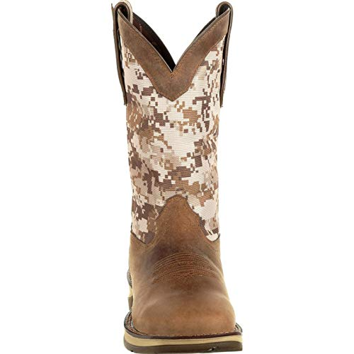 Western Toe Dusty Ddb0166 Camo Camo Rebel Men's by Square Desert Brown Durango Desert Boot RFUqUX