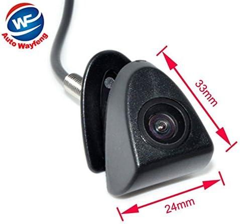 Auto Wayfeng/® 360 Degr/és Voiture Vue de Face Cam/éra Parking Cam /étanche avec Non-Miroir et Pas de Parking Ligne