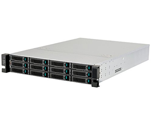 Silverstone Tek 2U 12-Bay 3.5-Inch Hot-Swap Rackmount Storage Server Chassis Cases RM212