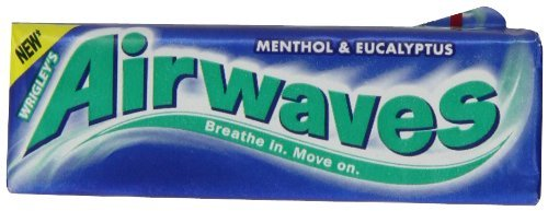 Airwaves Gum Menthol. 20 Packs