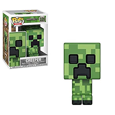 Funko POP! Games: Minecraft - Creeper Collectible Figure by FUCU9