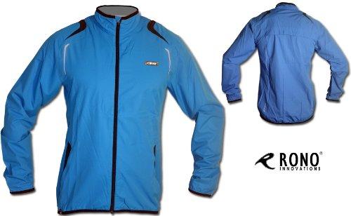Blaue Rono Blackwood Plasma Sportjacke / Funktionsjacke für Herren