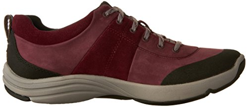 Clarks Shoe Wave Women's Nubuck Andes Walking Plum ASxHRF0qSw
