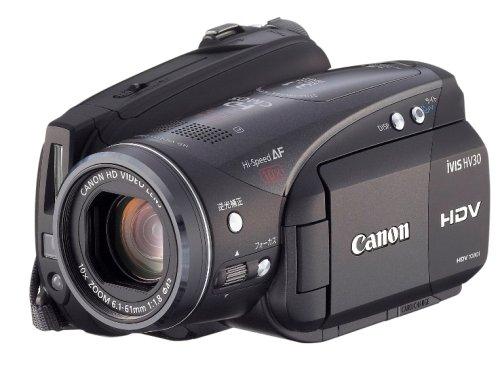 Canon フルハイビジョンビデオカメラ iVIS (アイビス) HV30 iVIS HV30   B0013AV2N0