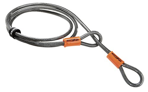 Kryptonite KryptoFlex 710 Double Loop Bicycle Security Bike Cable (10mm, 7-Feet)