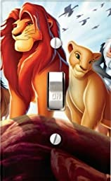Got You Covered Disney Baby Bedding Lion King Jungle Fun Light Switch Cover (Adult Simba with Nala)