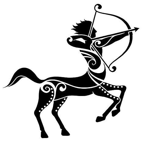 Adhesivo de signo del zodiaco Figuras de decoración de la pared ...
