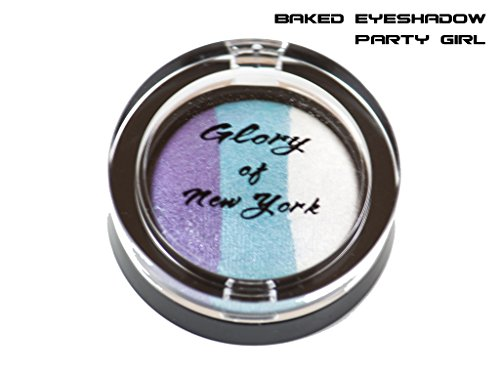 Glory Of New York Natural Baked Eyeshadow Trio (3 in
