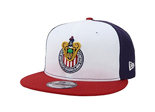 New Era 9Fifty Hat Chivas De Guadalajara Mexican League Muti-Color Soccer Cap