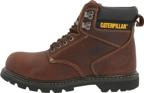 "Caterpillar Men's 2nd Shift 6"" Steel Toe Boot"