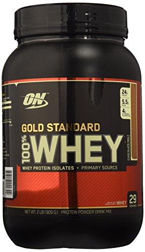 Optimum Nutrition Gold Standard Whey Protein, Malt, 2 Pound (Original)