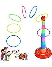 Juegos De Habilida Ring Toss Game, Juego de Deportes para Padres e Hijos Diversión Juegos de Familia para Niños y Adultos