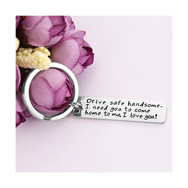 Drive Safe Keychain I Love You Keychains For Boyfriend I Need You Key Chains Husband Father Key Chain
