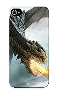 LjgvQZ-2298-lubwt Case Cover Dragon Fire Compatible With Iphone 5/5s Protective Case