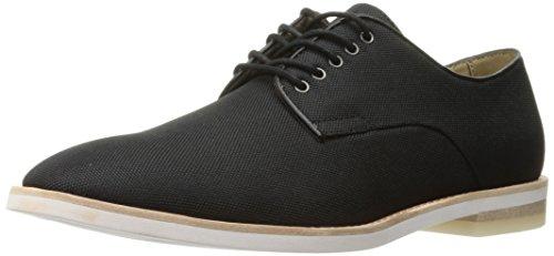 Calvin Klein Men's Aggussie Nylon Oxford, Black, 12 M US F1712