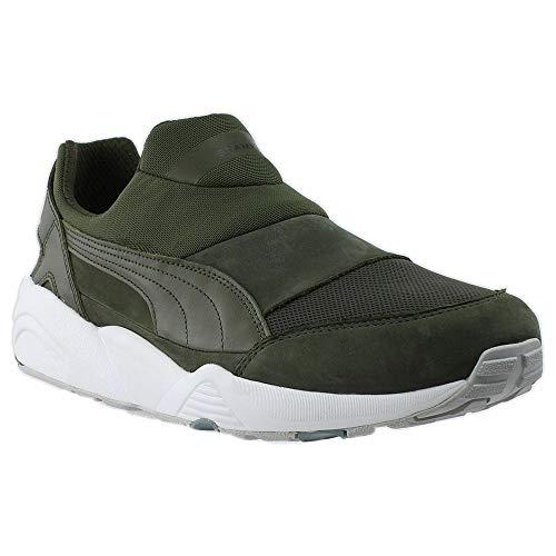 PUMA Mens Stampd Trinomic Sock Nm Casual Sneakers, Green, 10