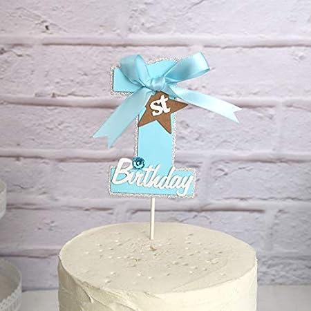 PureArte - Decoración para tarta de primer cumpleaños para ...