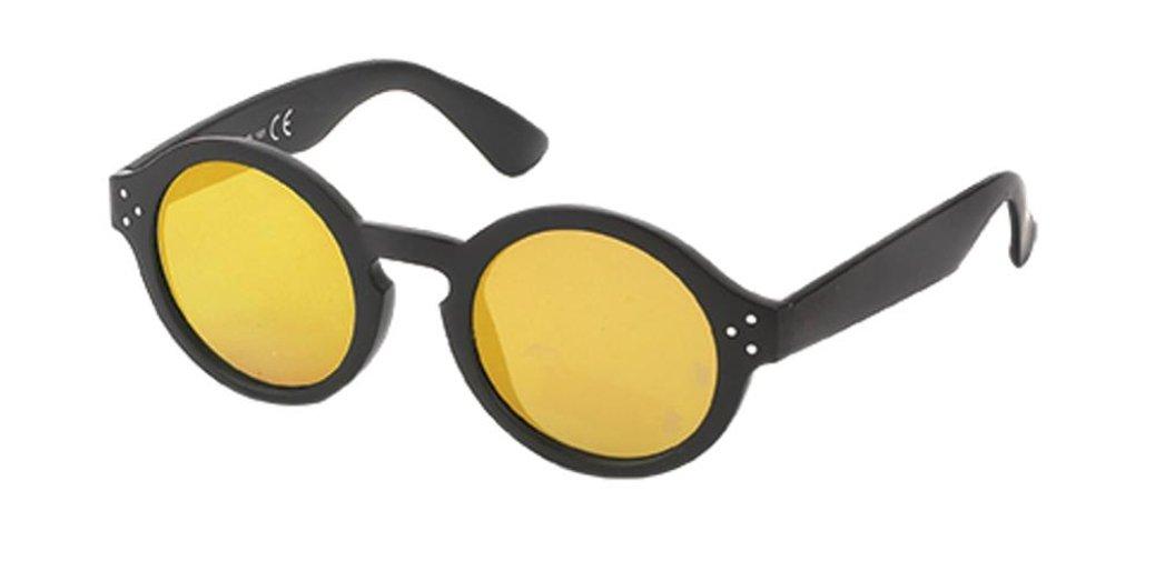 Chic-Net Sonnenbrille Retro Round Glasses 400 UV Schlüssellochsteg ...