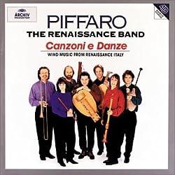 Canzoni E Danze: Wind Music From Renaissance Italy