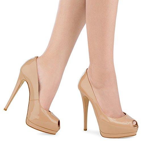 Formal Talons E Robe 41 Stiletto Chaussures Couleur Business XUE Work t Mariage Soire Pointu Talon et Printemps PU Pompe Fte Femmes Basique E Chaussures Taille TqPaw0