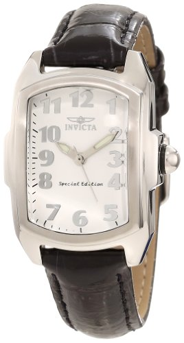 Lupah Swiss - Invicta Women's 0247 Lupah White Ceramic Dial Watch