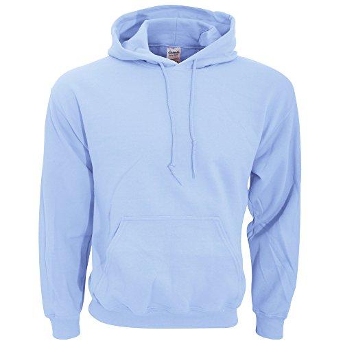Gildan mens Heavy Blend 8 oz. 50/50 Hood(G185)-LIGHT BLUE-XL