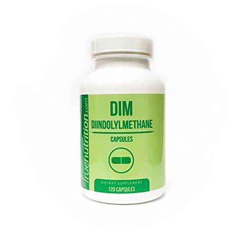 True Nutrition DIM (Diindolylmethane)100mg Capsules (120 Caps) by True Nutrition