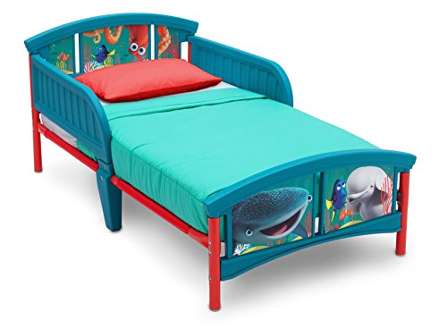 Delta Children Plastic Toddler Bed, Disney/Pixar Finding Dory (Bed Bedroom Disney)