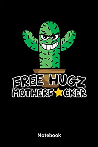 Free Hugz Motherfucker Notebook A5 Liniertes Notizbuch Für