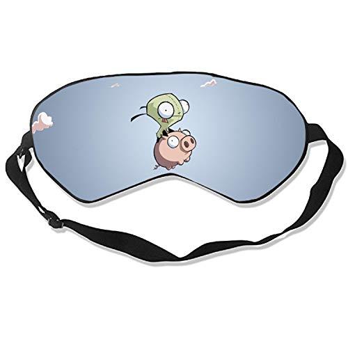 Eye Mask Gir and Pig Invader Zim Eye Cover for Travel,Nap,Meditation -