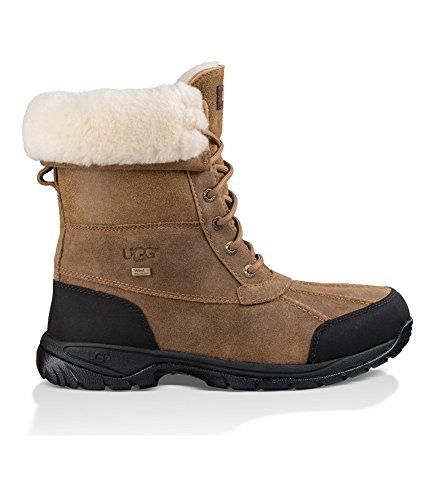 (UGG Men's Butte Snow Boot Bomber Jacket Chestnut 11 M)