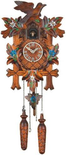 Trenkle Quartz Cuckoo Clock 5-Leaves, Bird